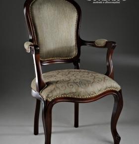 Cadeira  Luis Felipe c/ braço - 0,56x0,47x1,03
