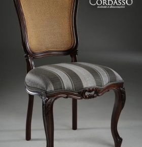Cadeira Luis XV s/ braço - 0,52x0,47x1,03