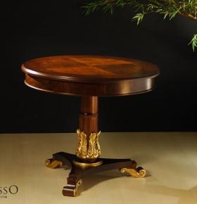 Mesa Essenza c/ detalhe em dourado - 0,90x0,78
